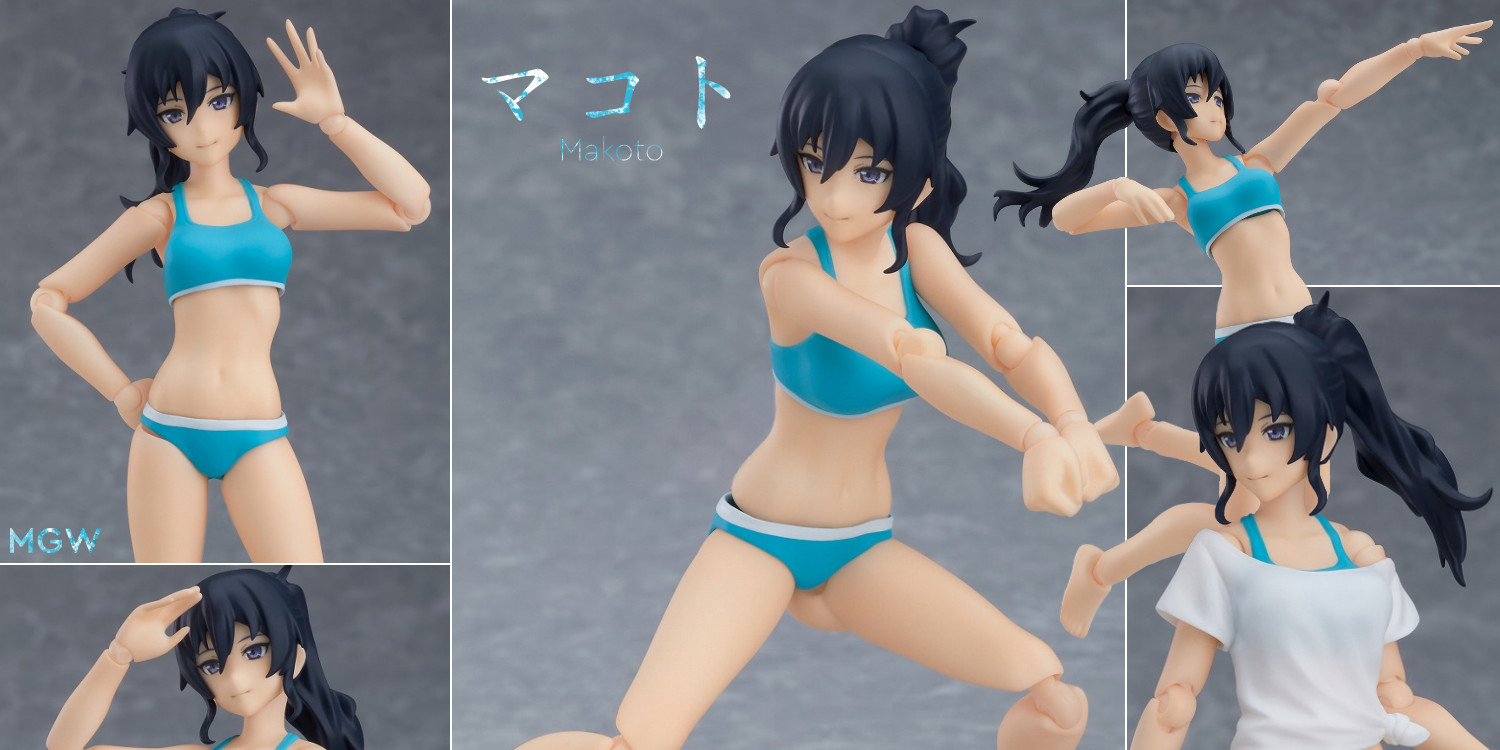 figma Female Swimsuit Body Makoto from figma Styles by Max Factory