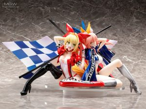 Nero Claudius & Tamamo no Mae TYPE-MOON Racing ver. by plusone & STRONGER from Fate/EXTRA MyGrailWatch Anime Figure Pre-order Guide 3