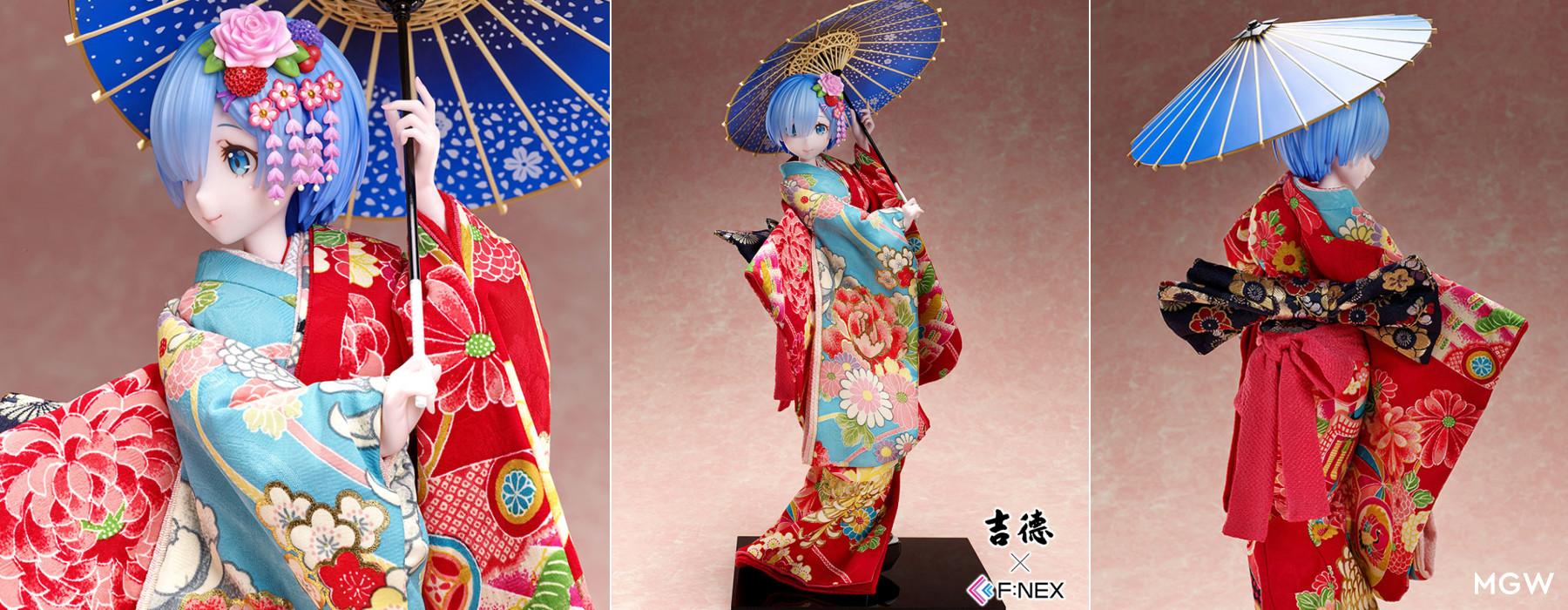 Yoshitoku x F:NEX Rem Japanese Doll from Re:ZERO -Starting Life in Another World-