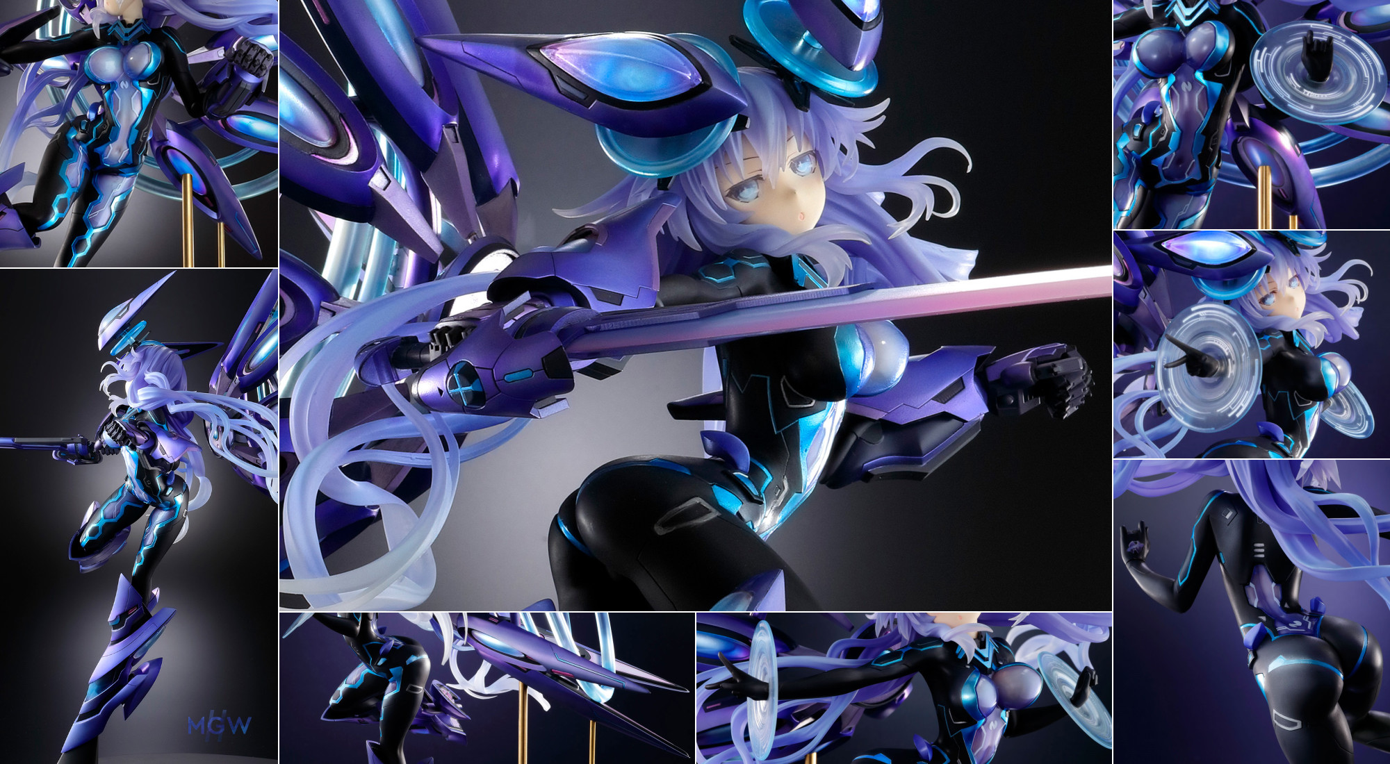 Hyperdimension Neptunia VII Next Purple by VERTEX MGW Anime Figure Pre order Guide