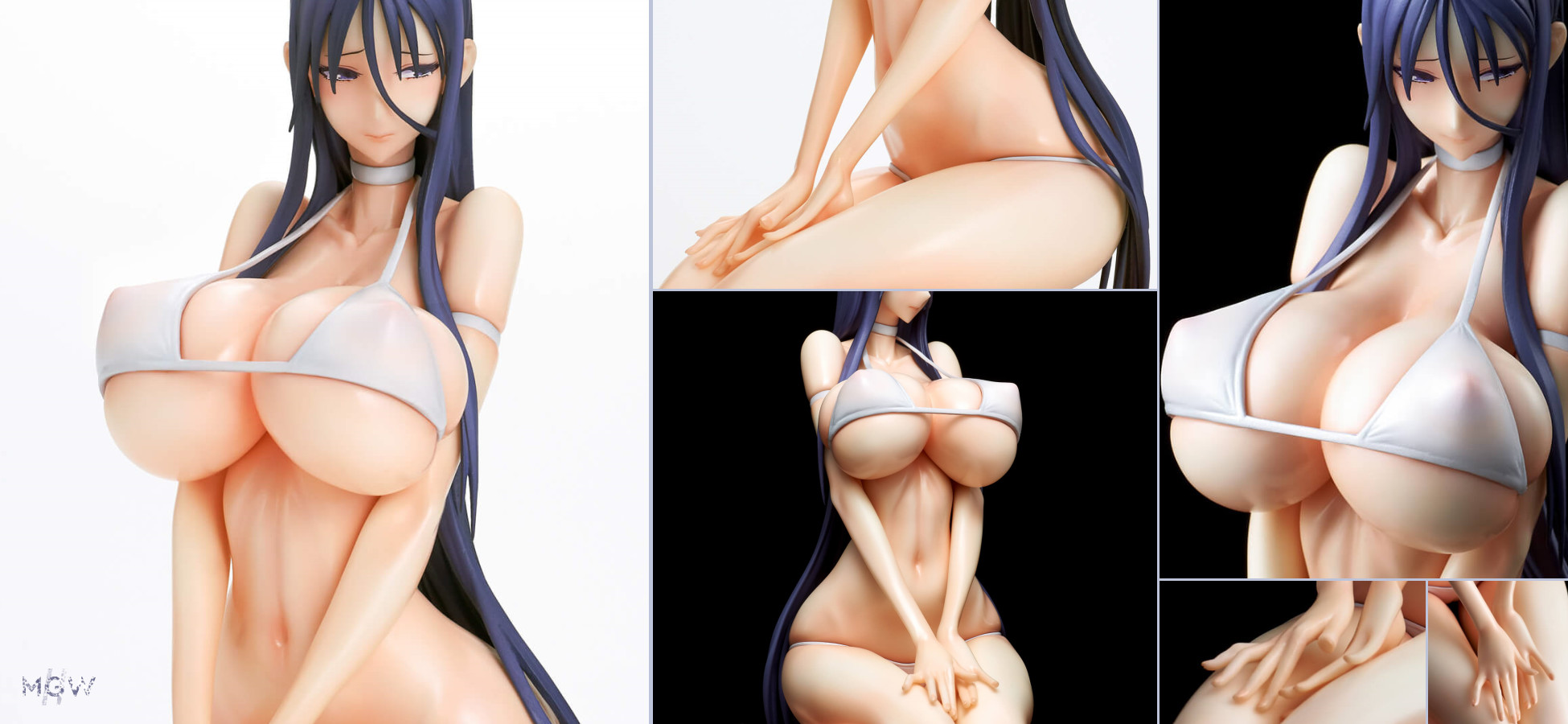 Misa nee White bikini ver. by Q six from Mahou Shoujo by RAITA MGW Anime Figure Pre order Guide