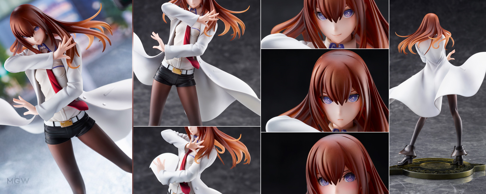 DreamTech Makise Kurisu White Coat style by WAVE from STEINSGATE