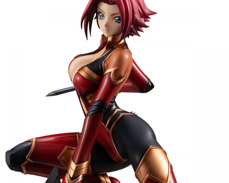 G.E.M. Series Kouzuki Kallen Pilot Suit Ver. by MegaHouse from Code Geass 1