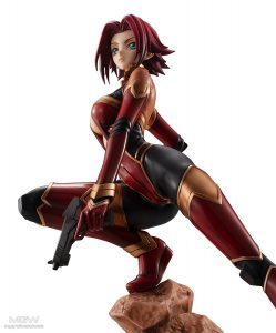 G.E.M. Series Kouzuki Kallen Pilot Suit Ver. by MegaHouse from Code Geass 6
