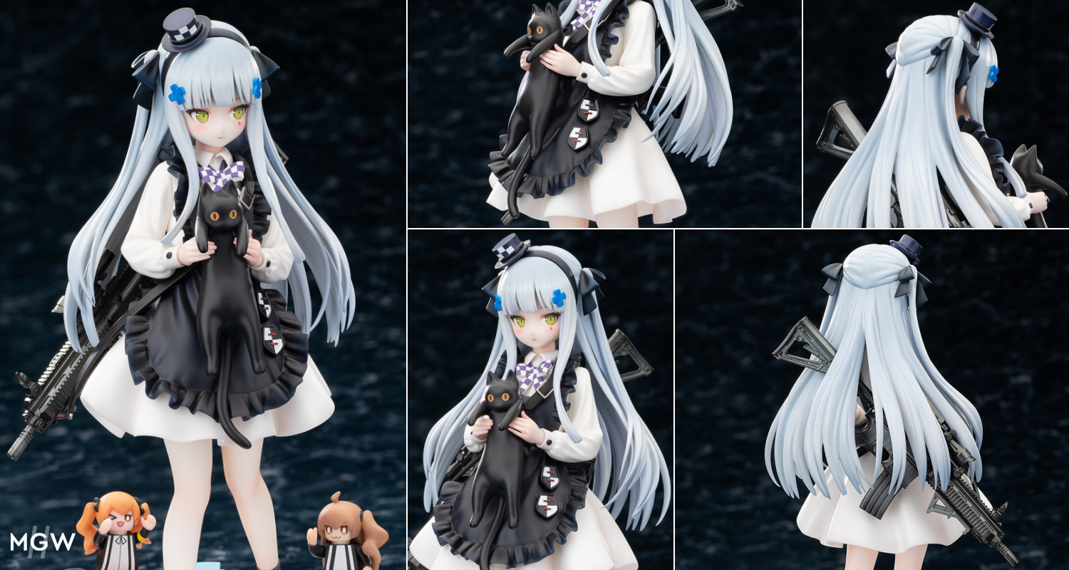 HK416 Gift from the Black Cat Ver. by HobbyMax from Girls Frontline MyGrailWatch Anime Figure Guide