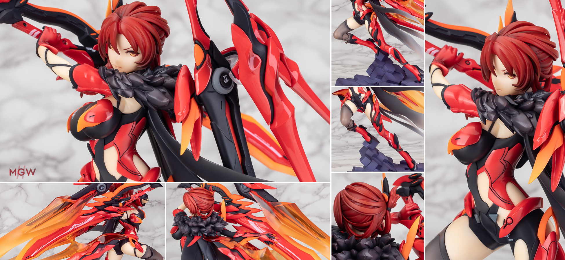 Murata Himeko Vermilion Knight Eclipse Ver. by APEX x miHoYo from Houkai 3rd Honkai 3rd 1 MyGrailWatch Anime Figure Guide