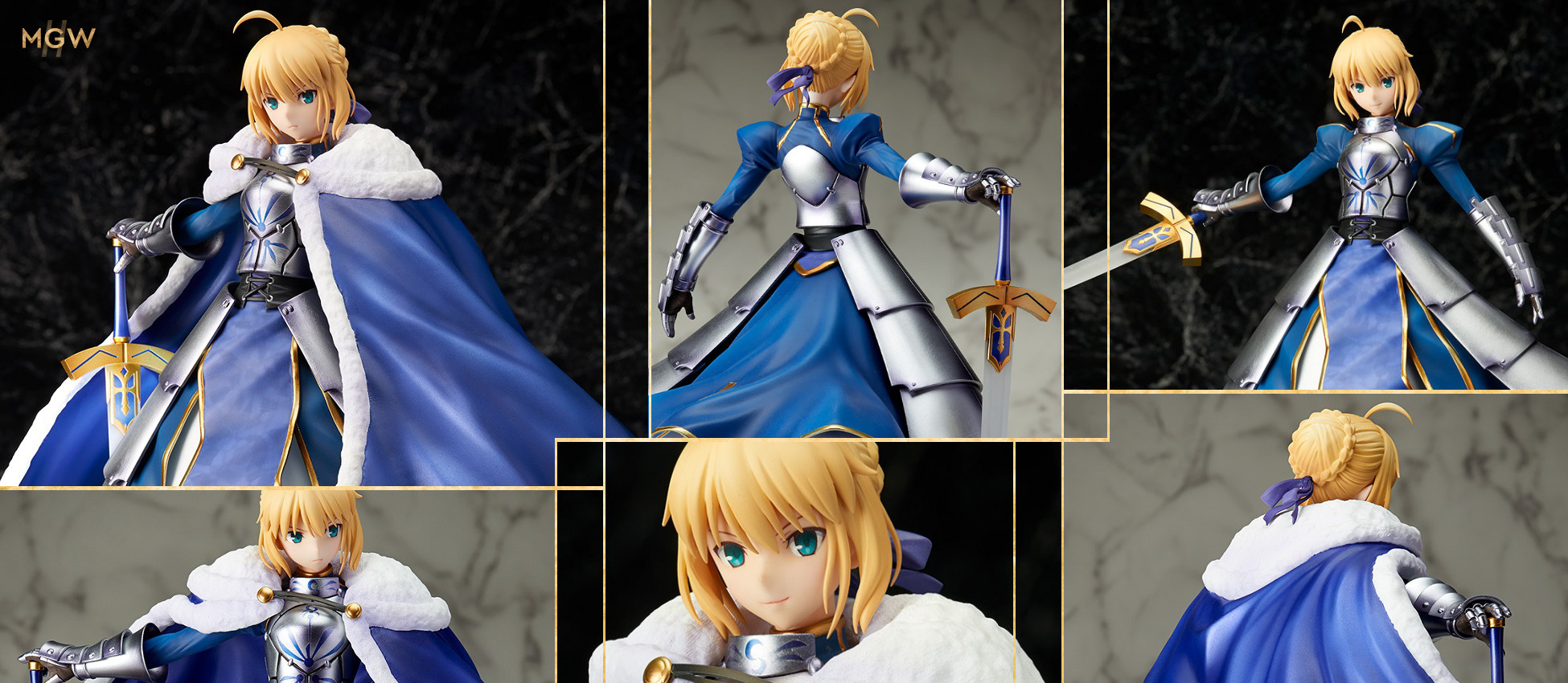 Saber Altria Pendragon DX Ver by STRONGER from Fate Grand Order 2 MyGrailWatch Anime Figure Guide
