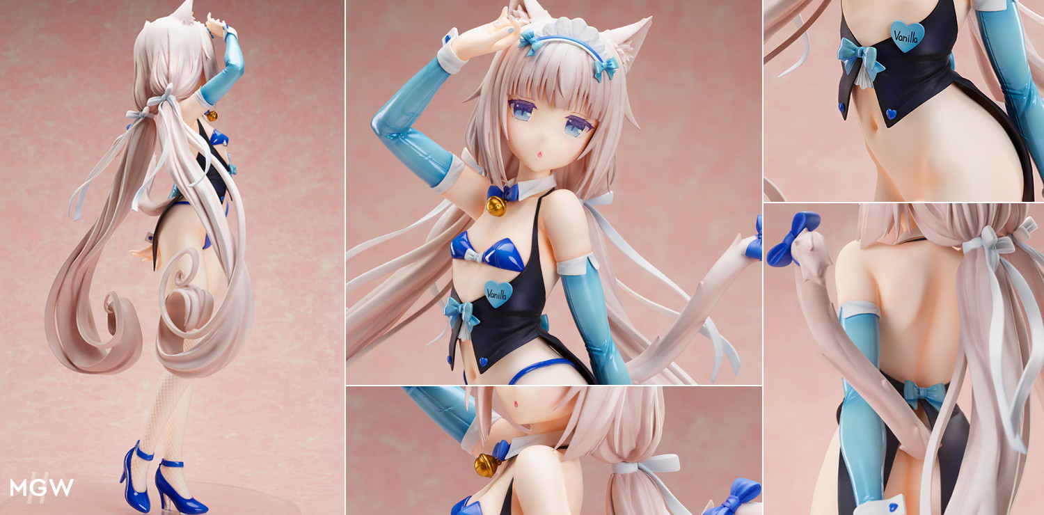 Sayori Vanilla Bunny Suit Ver. by BINDing from NekoPara MyGrailWatch Anime Figure Guide