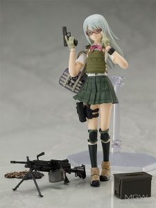 figma Nishibe Ai by TOMYTEC from Little Armory with illustration by Fuyuno Haruaki 2 MyGrailWatch Anime Figure Guide