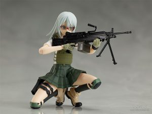figma Nishibe Ai by TOMYTEC from Little Armory with illustration by Fuyuno Haruaki 5 MyGrailWatch Anime Figure Guide