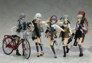figma Nishibe Ai by TOMYTEC from Little Armory with illustration by Fuyuno Haruaki 9 MyGrailWatch Anime Figure Guide
