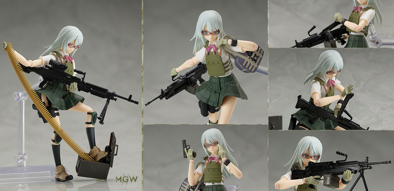 figma Nishibe Ai by TOMYTEC from Little Armory with illustration by Fuyuno Haruaki