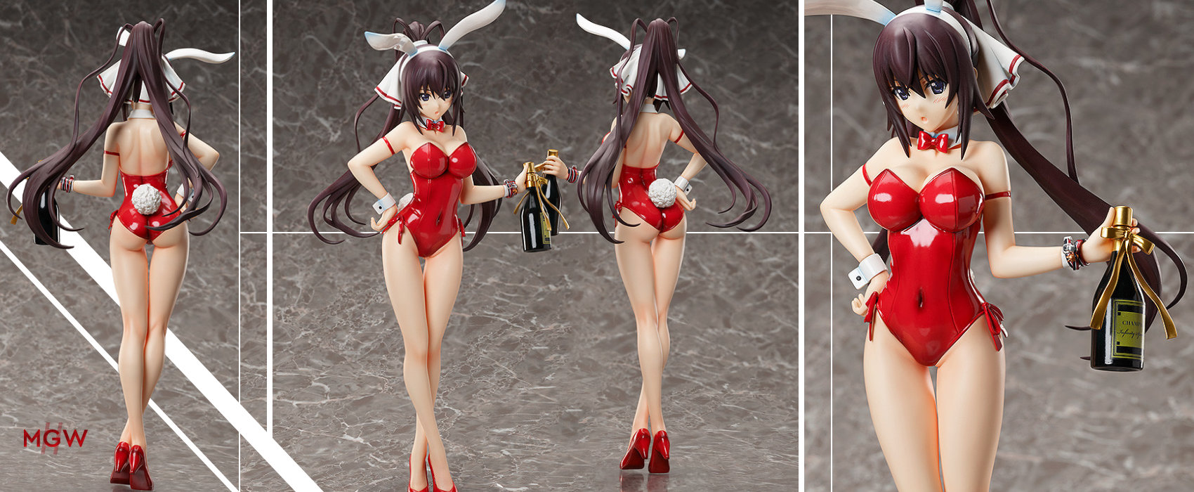 B style Shinonono Houki Bare Leg Bunny Ver. by FREEing from Infinite Stratos MyGrailWatch Anime Figure Guide