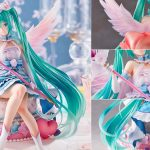 Hatsune Miku Birthday 2020 Sweet Angel Ver. by spiritale with illustration by necomi MyGrailWatch Anime Figure Guide