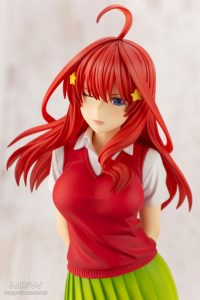 Nakano Istuki by Kotobukiya from The Quintessential Quintuplets 10 MyGrailWatch Anime Figure Guide