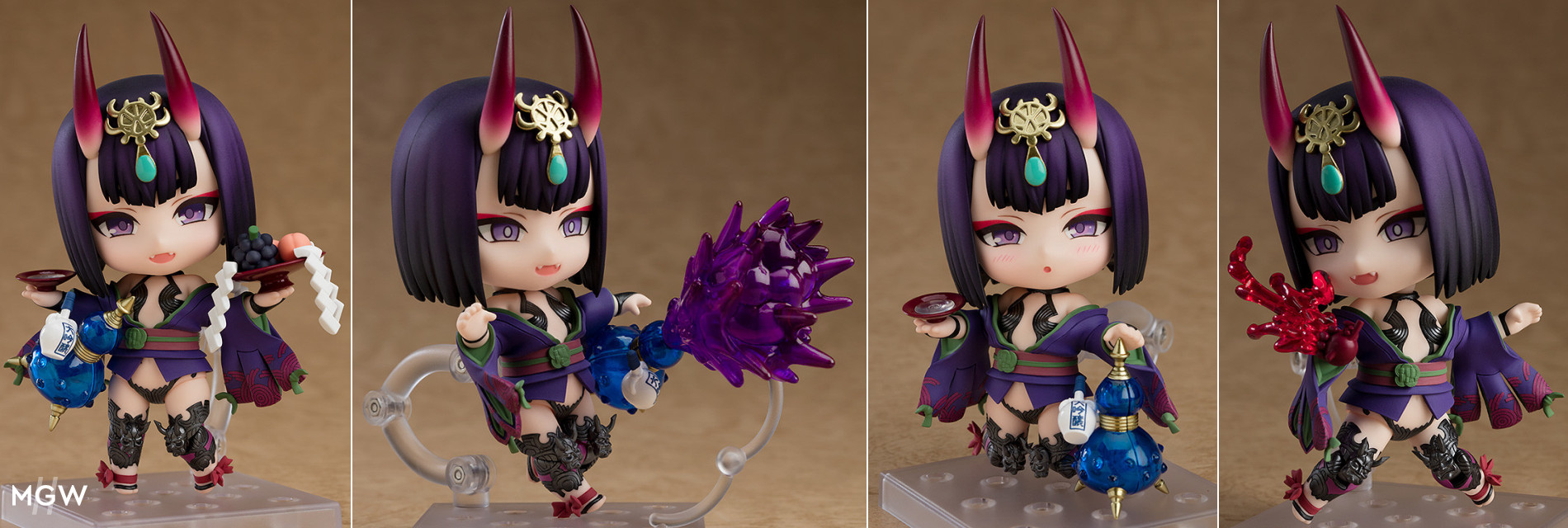 Nendoroid Assassin/Shuten-Douji by Good Smile Company from Fate/Grand Order MyGrailWatch Anime Figure Guide