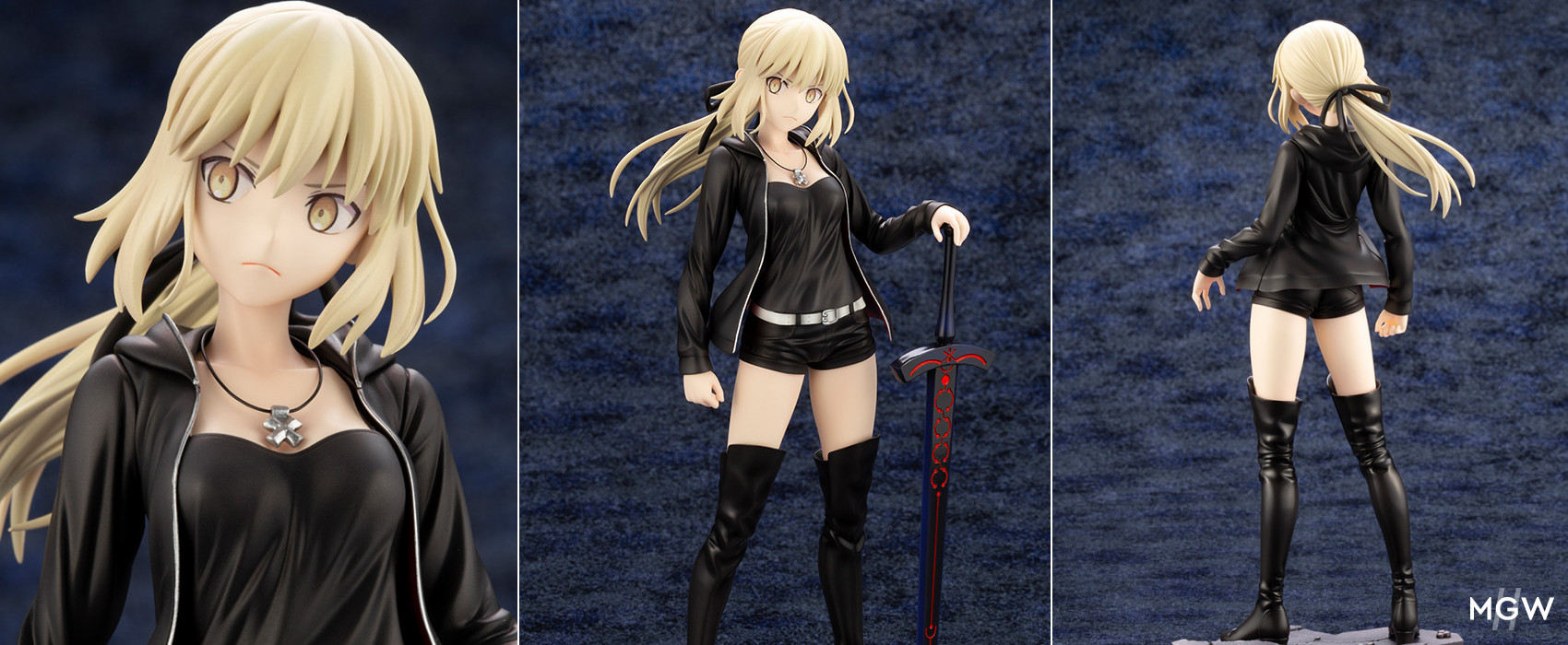 Saber Altria Pendragon Alter Casual ver. by Kotobukiya from Fate Grand Order MyGrailWatch Anime Figure Guide