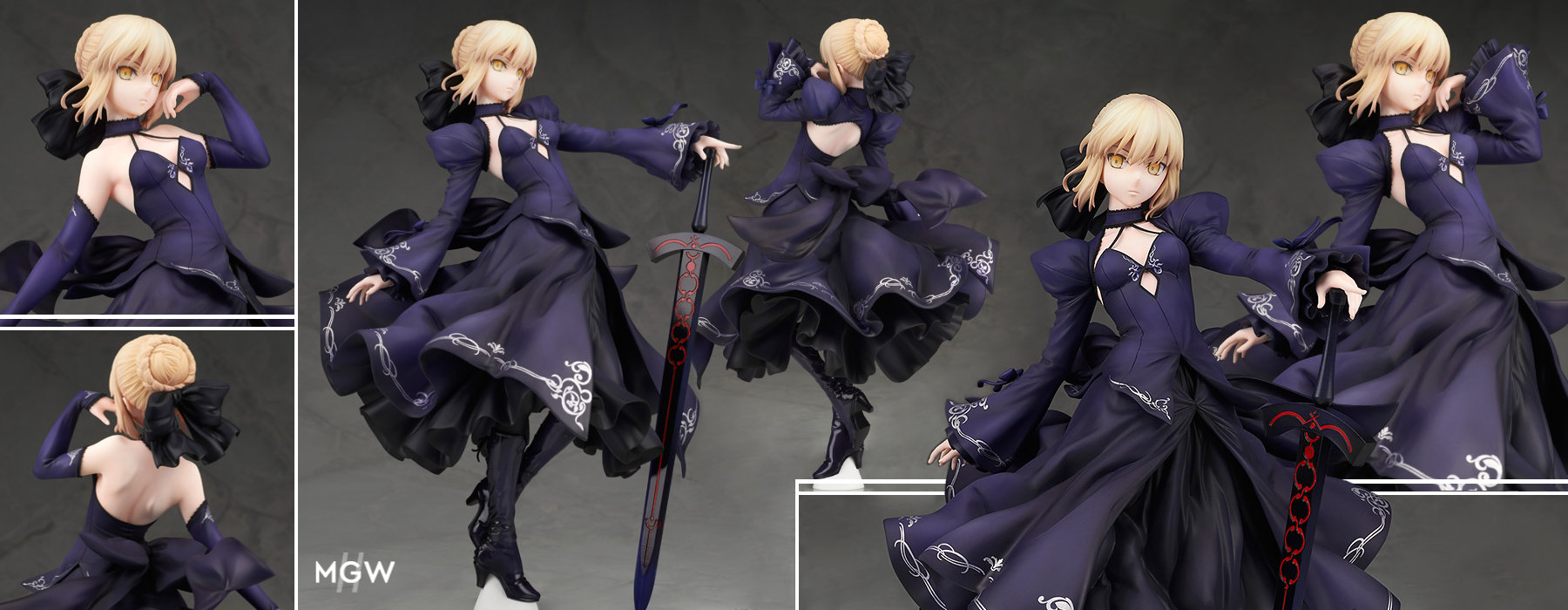 Saber Altria Pendragon Alter Dress ver. by ALTER from Fate Grand Order MGW Anime Figure Pre order Guide