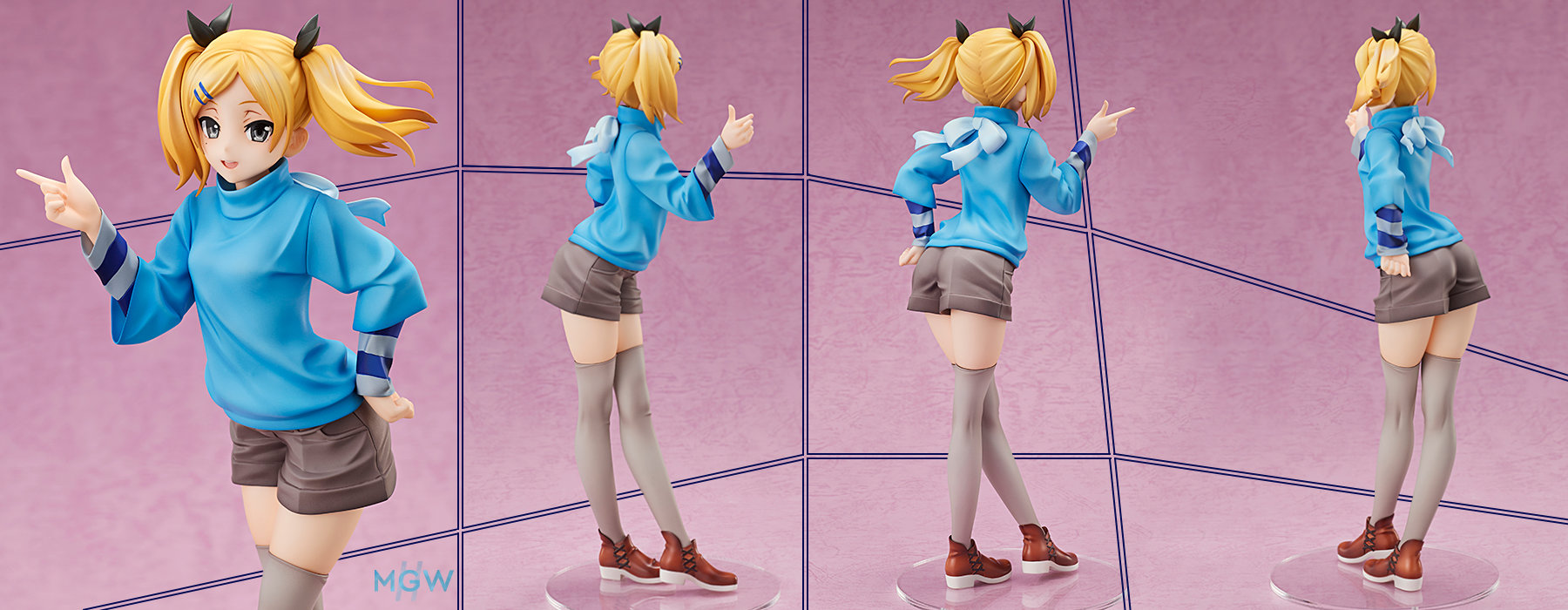 Yano Erika by AMAKUNI from Shirobako MGW Anime Figure Pre order Guide