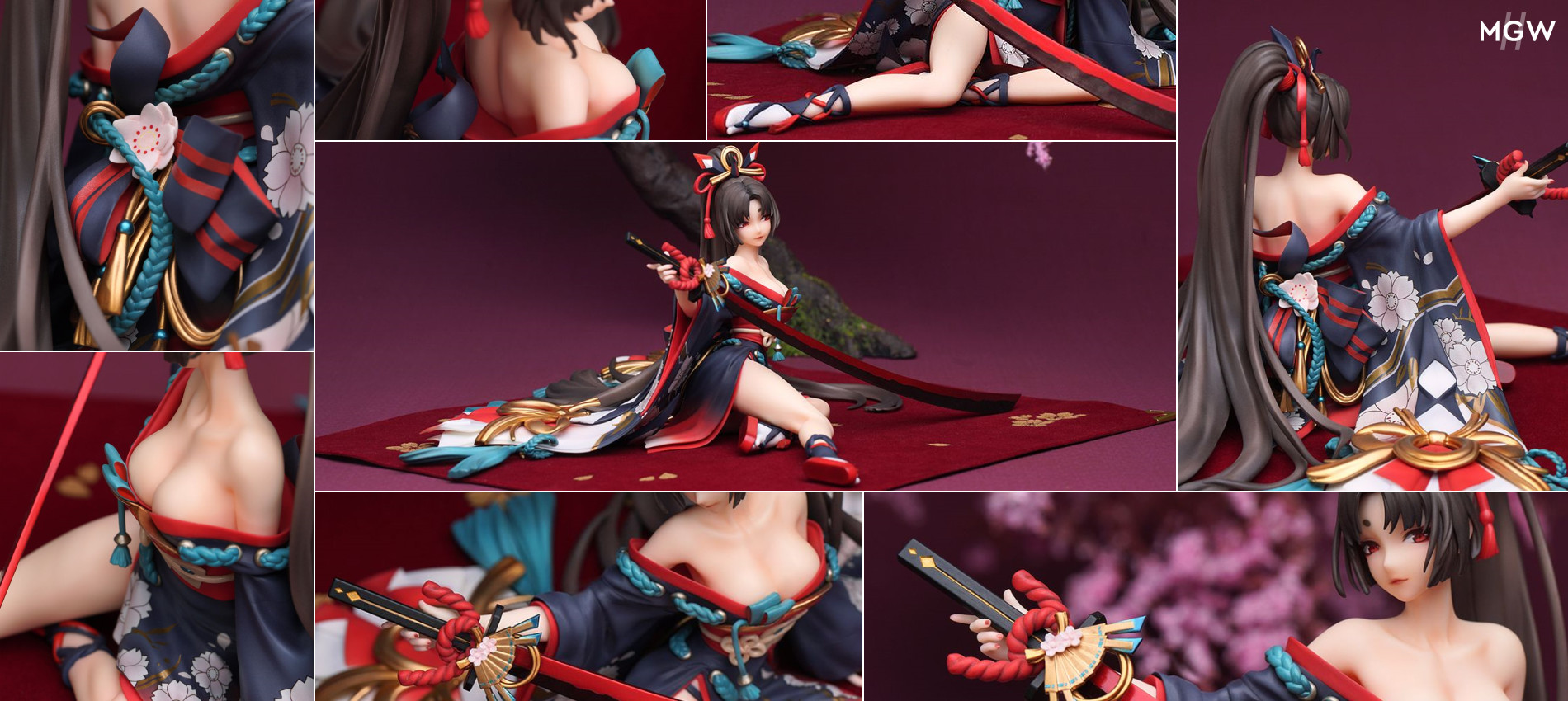 Yoto Hime Scarlet Saber Ver. by Myethos from Onmyoji MyGrailWatch Anime Figure Guide