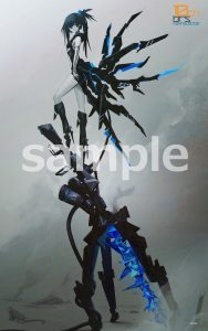 BLACK ROCK SHOOTER Black Rock Shooter inexhaustible Ver. by Good Smile Company 12 MyGrailWatch Anime Figure Guide