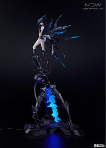 BLACK ROCK SHOOTER Black Rock Shooter inexhaustible Ver. by Good Smile Company 9 MyGrailWatch Anime Figure Guide