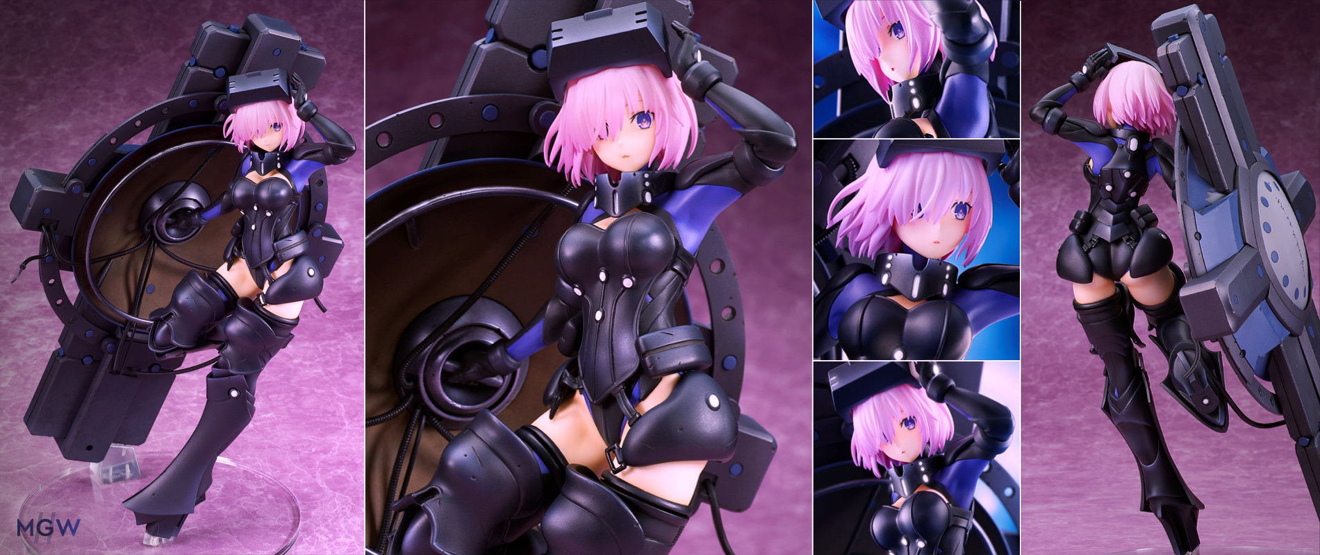Fate Grand Order Shielder Mash Kyrielight Ortinax by quesQ
