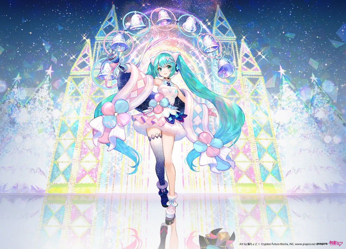Hatsune Miku Magical Mirai 2020 Winter Festival Ver. original illustration by fuzichoco