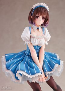 Kato Megumi Maid Ver. by REVOLVE from Saekano How to Raise a Boring Girlfriend Fine 6 MyGrailWatch Anime Figure Guide