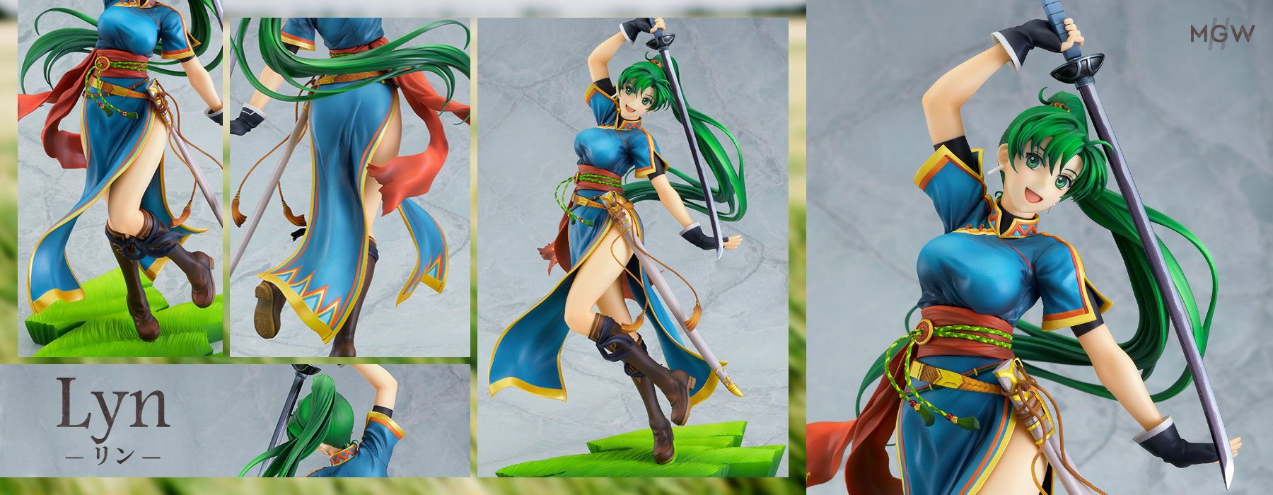 Lyn by INTELLIGENT SYSTEMS from Fire Emblem Blazing Blade MGW Anime Figure Pre order Guide
