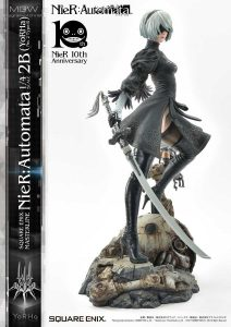 SQUARE ENIX MASTERLINE NieR Automata YoRHa No.2 Type B 2B by Prime1Studio 10 MyGrailWatch Anime Figure Guide