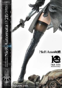 SQUARE ENIX MASTERLINE NieR Automata YoRHa No.2 Type B 2B by Prime1Studio 12 MyGrailWatch Anime Figure Guide