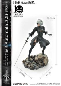 SQUARE ENIX MASTERLINE NieR Automata YoRHa No.2 Type B 2B by Prime1Studio 3 MyGrailWatch Anime Figure Guide