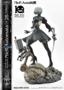 SQUARE ENIX MASTERLINE NieR Automata YoRHa No.2 Type B 2B by Prime1Studio 7 MyGrailWatch Anime Figure Guide
