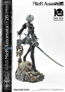 SQUARE ENIX MASTERLINE NieR Automata YoRHa No.2 Type B 2B by Prime1Studio 9 MyGrailWatch Anime Figure Guide