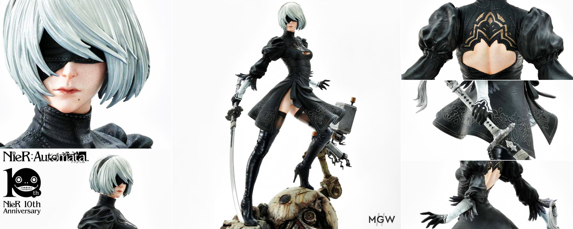SQUARE ENIX MASTERLINE NieR Automata YoRHa No.2 Type B 2B by Prime1Studio MyGrailWatch Anime Figure Guide