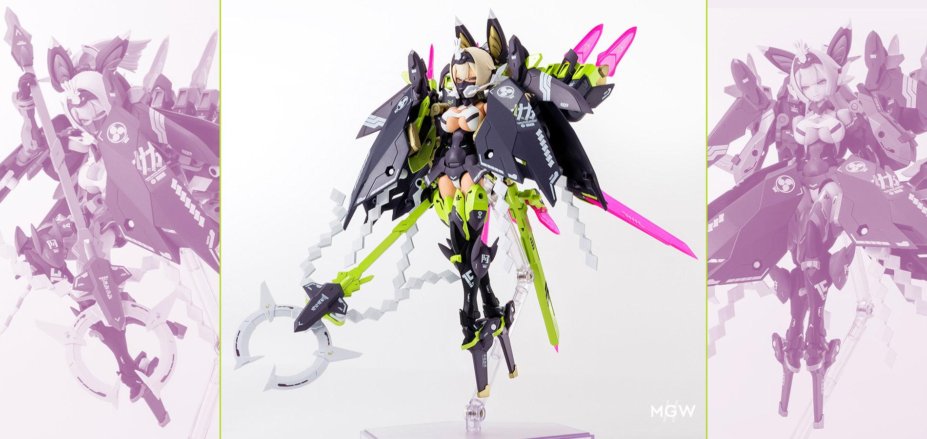 Asra Tamamo no Mae from Megami Device by Kotobukiya MyGrailWatch Anime Figure Guide