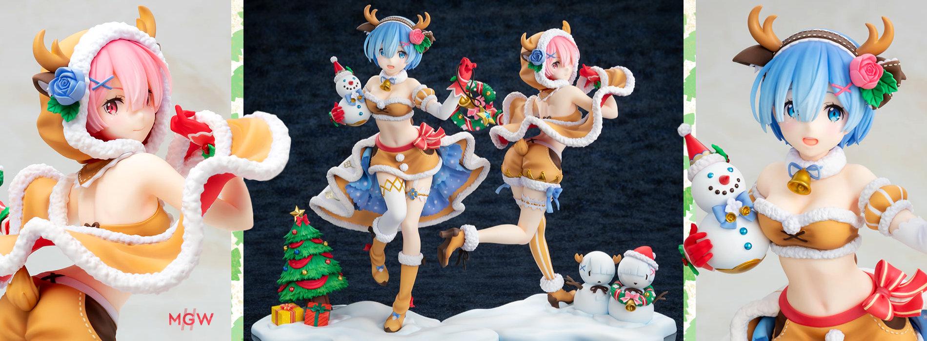 KDcolle Ram Rem Reindeer Set by KADOKAWA from ReZERO Starting Life in Another World