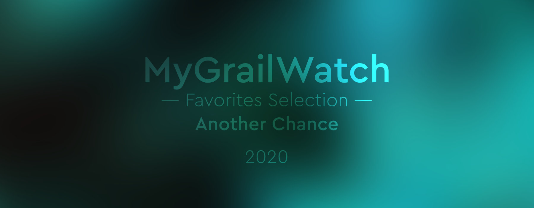MGW Favorites Selection 2020 Another Chance