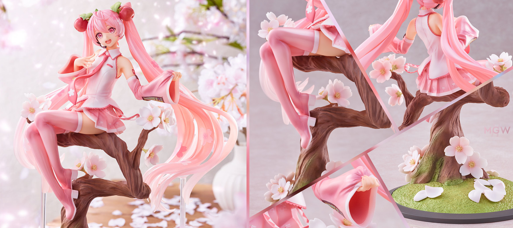 Sakura Miku Sakura Fairy ver. by spiritale with illustration by Iwato