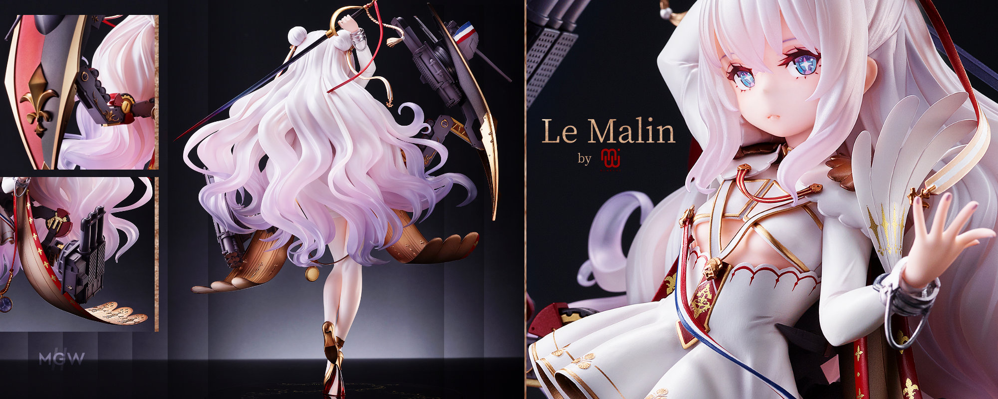 Azur Lane Le Malin by MIMEYOI