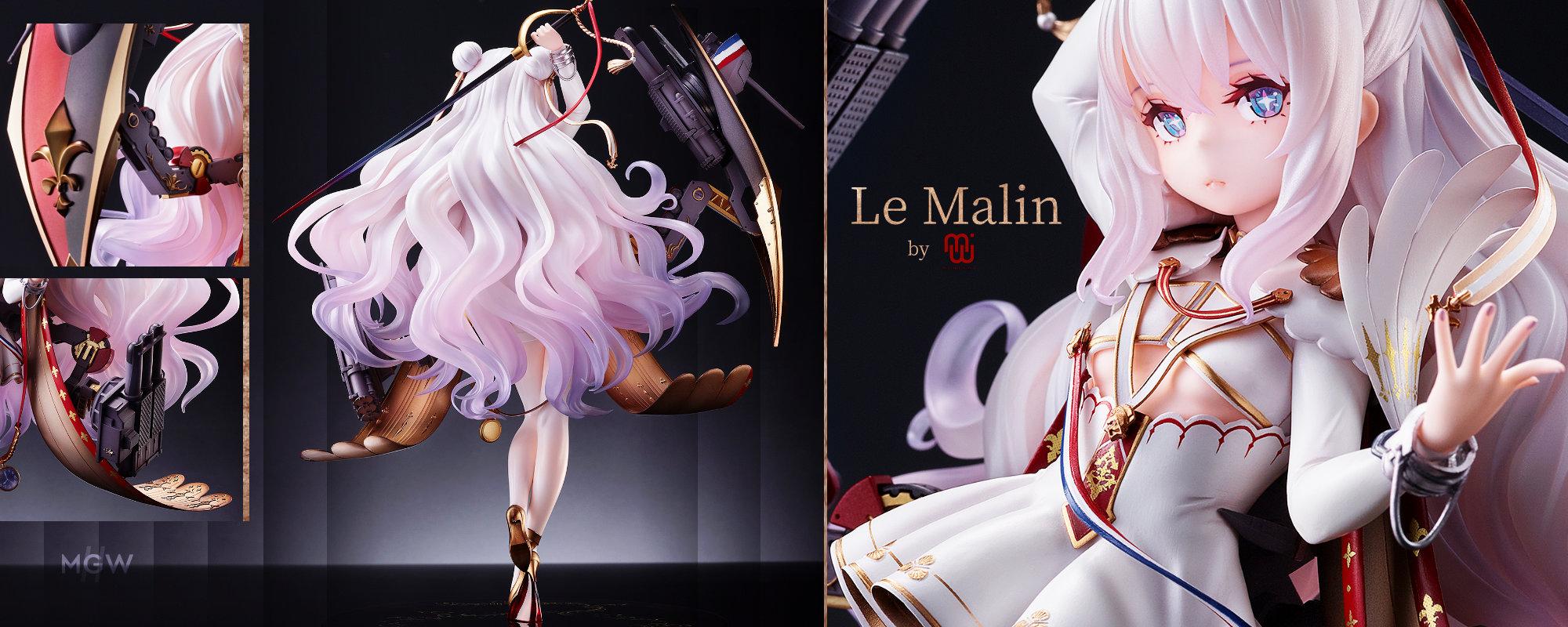 Azur Lane Le Malin by MIMEYOI