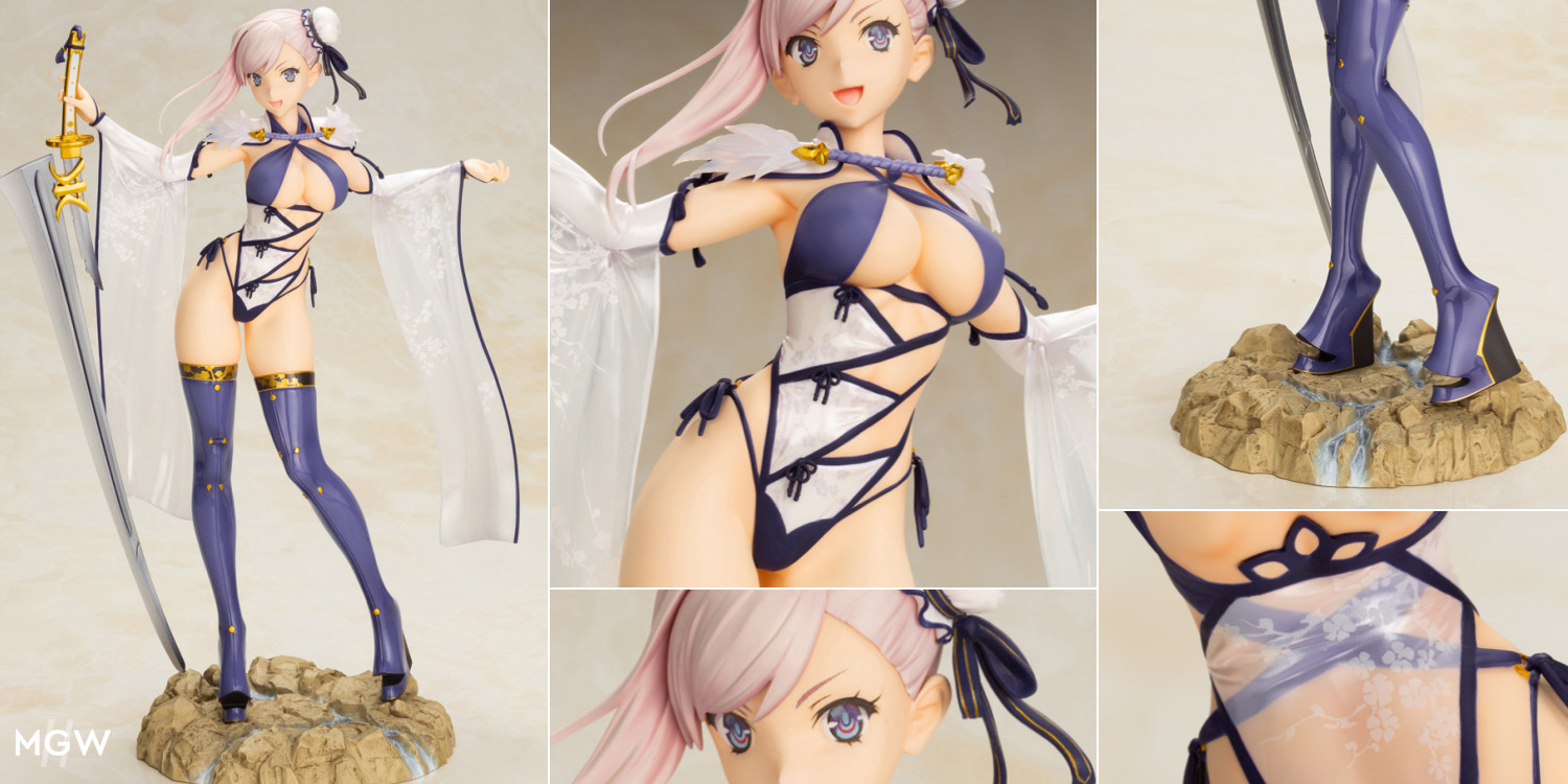 Berserker Miyamoto Musashi by Kotobukiya from Fate Grand Order MyGrailWatch Anime Figure Guide