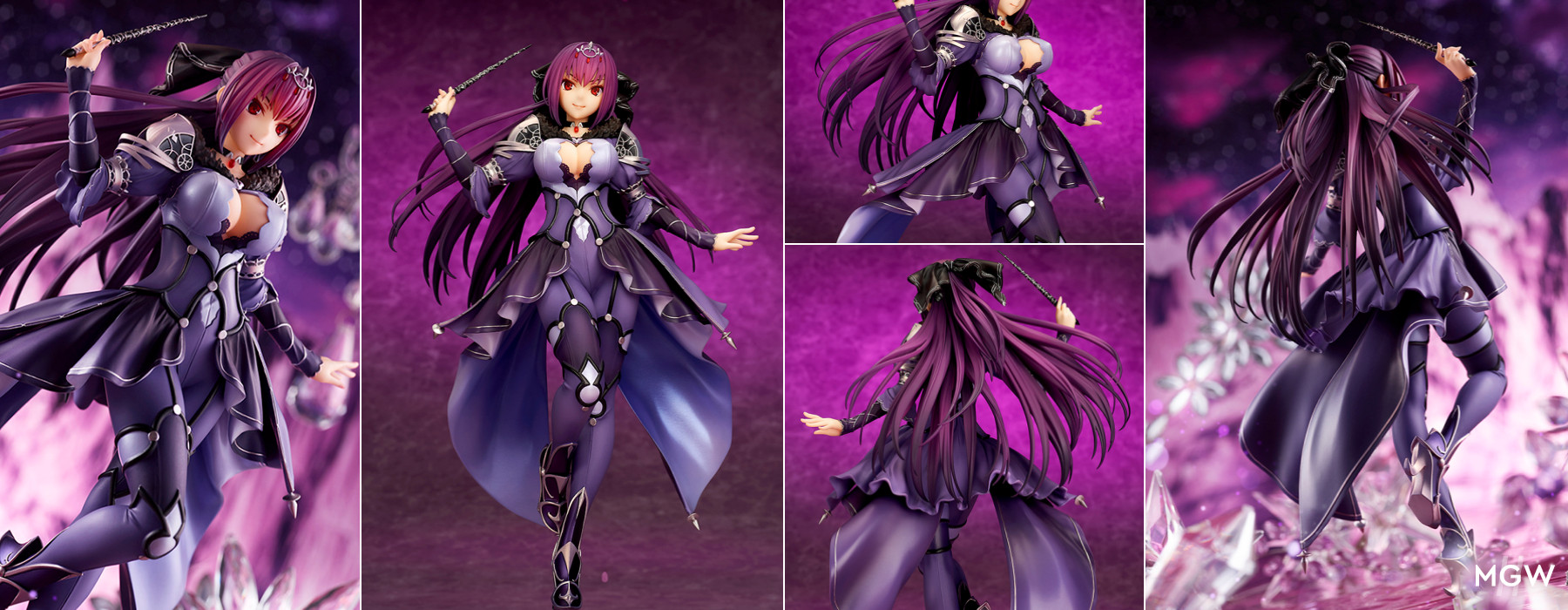 Caster Scathach Skadi Second Ascension by quesQ from Fate Grand Order MyGrailWatch Anime Figure Guide