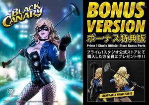 DC Comics Museum Masterline Black Canary EX Bonus Version by Prime 1 Studio 1 MyGrailWatch Anime Figure Guide