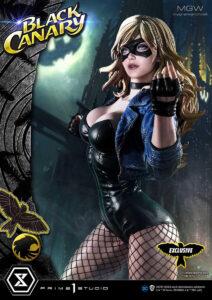 DC Comics Museum Masterline Black Canary EX Bonus Version by Prime 1 Studio 6 MyGrailWatch Anime Figure Guide