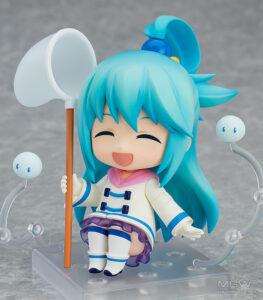 Nendoroid Aqua Winter Ver. by Good Smile Company from KonoSuba 4 MyGrailWatch Anime Figure Guide