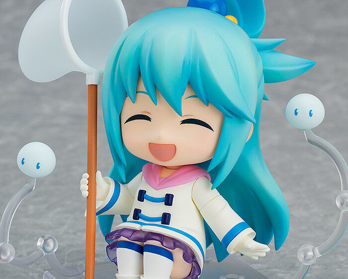 Nendoroid Aqua Winter Ver. by Good Smile Company from KonoSuba 4 MyGrailWatch Anime Figure Guide