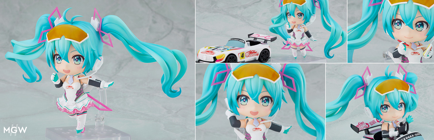 Nendoroid Racing Miku 2021 Ver. with illustration by Morikura En MyGrailWatch Anime Figure Guide
