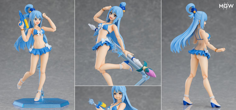 figma Aqua Swimsuit Ver. by Max Factory from KonoSuba MyGrailWatch Anime Figure Guide
